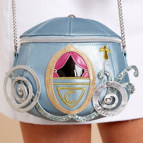 Used once Disney Cinderella Pumpkin Carriage purse